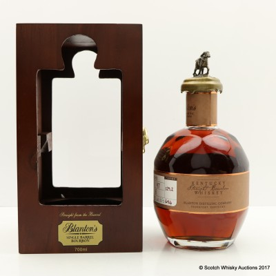 Blanton's Straight From The Barrel In Wooden Box