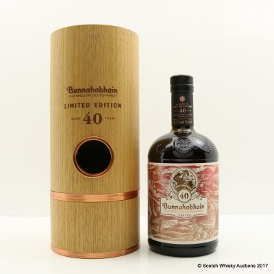 Bunnahabhain 40 Year Old