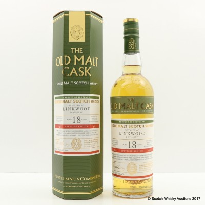 Linkwood 1997 18 Year Old Old Malt Cask