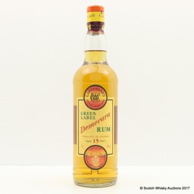 Green Label 15 Year Old Demerara Rum Cadenhead's