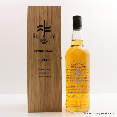 Springbank 1995 For The S.B.S