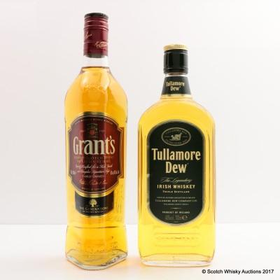 Grant's Family Reserve & Tullamore Dew