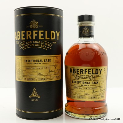 Aberfeldy 1983 33 Year Old Exceptional Cask Series