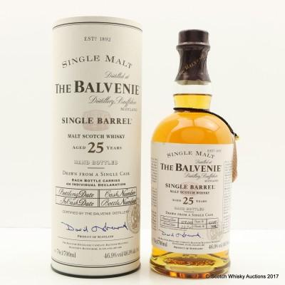 Balvenie 1974 25 Year Old Single Barrel