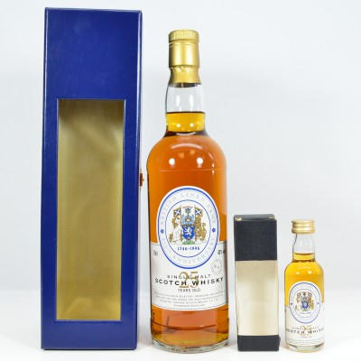 British Linen Bank 250th Anniversary 25 Year Old & 5cl Mini
