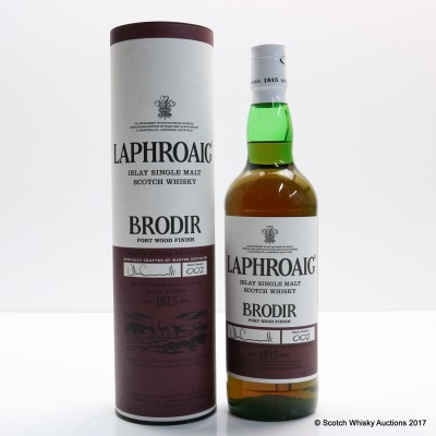Laphroaig Brodir Port Finish Batch #2