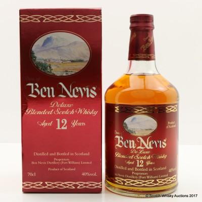Ben Nevis 12 Year Old