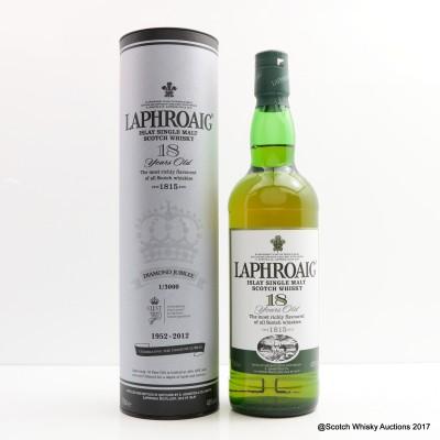 Laphroaig 18 Year Old Diamond Jubilee