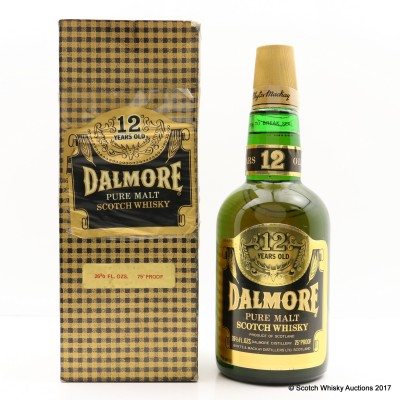 Dalmore 12 Year Old Old Style 26 2/3 FL OZ
