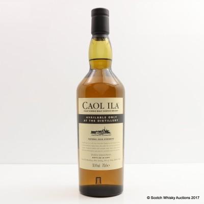 Caol Ila Distillery Only Cask Strength 2007 Release