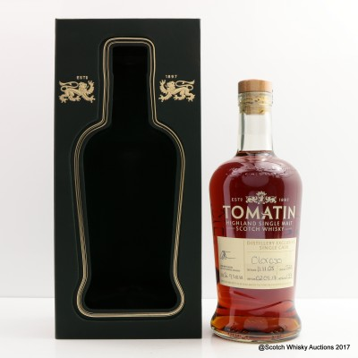 Tomatin 2005 Oloroso Cask #5221 Distillery Exclusive
