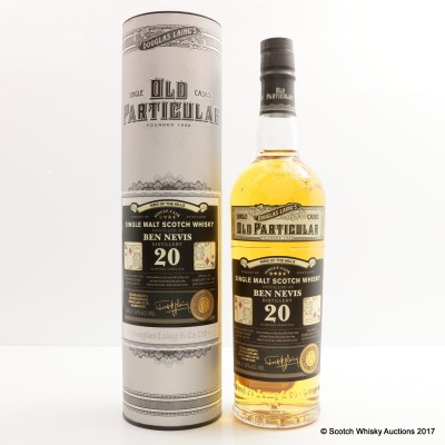 Ben Nevis 1997 20 Year Old King Of The Hills Old Particular