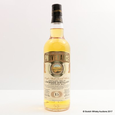 Linkwood 1997 15 Year Old Provenance