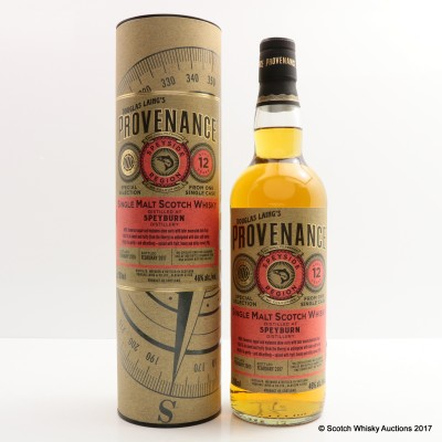 Speyburn 2005 12 Year Old Provenance