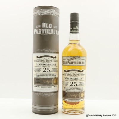 Cameronbridge 1991 25 Year Old Old Particular
