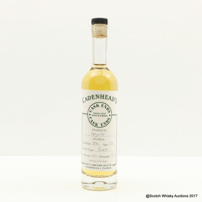 Speyside 1991 25 Year Old Cadenhead's 20cl