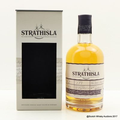 Strathisla 15 Year Old Hand Filled
