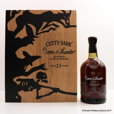Cutty Sark 25 Year Old Tam O'Shanter & Book