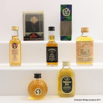 Assorted Minis 5 x 5cl Including Immortal Memory Gordon & Macphail Mini 5cl