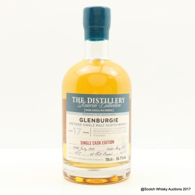 Glenburgie 1999 17 Year Old Distillery Reserve Collection