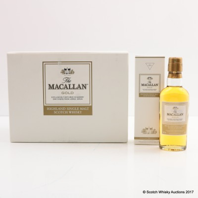 Macallan Gold Mini Set 12 x 5cl