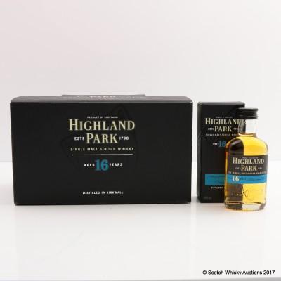 Highland Park 16 Year Old Mini Set 12 x 5cl