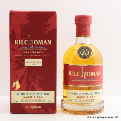 Kilchoman Bottled Exclusively For The Land Rover UK Tour 2015