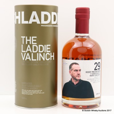 Bruichladdich Valinch 29 Roddy MacEachern 50cl