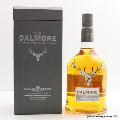 Dalmore 1997 Distillery Exclusive Bourbon Finesse 2016 Release