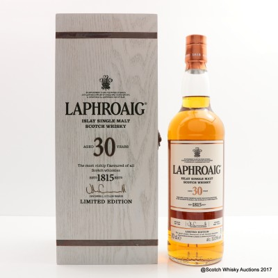 Laphroaig 1985 30 Year Old