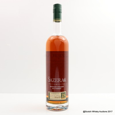 Sazerac 18 Year Old Spring 2016 Release 75cl