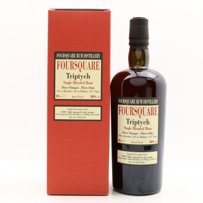 Foursquare Triptych Single Blended Rum