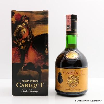Carlos I Spanish Brandy 75cl