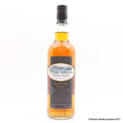 Buain Mhoine Strongly Peated Spirit & Cask Selection