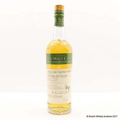 Dalmore 1990 19 Year Old Old Malt Cask