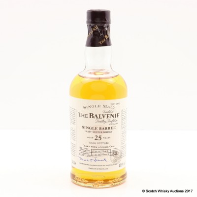 Balvenie 25 1978 Year Old Single Barrel 20cl