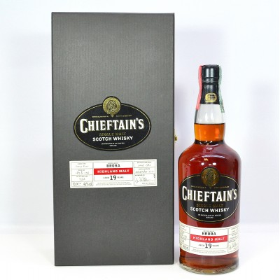 Brora 1982 19 Year Old Chieftain's In Box (Inner Cardboard Holder Is Torn)