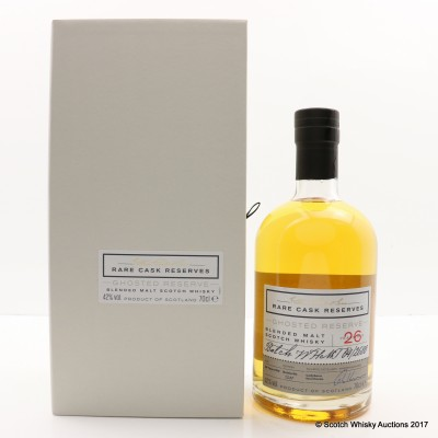 William Grant's Ghosted Reserve 26 Year Old