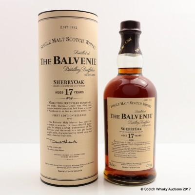 Balvenie 17 Year Old Sherry Oak