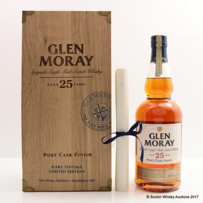 Glen Moray 1988 25 Year Old Port Cask