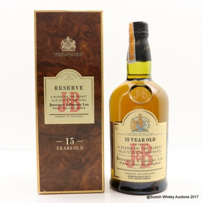 J&B Reserve 15 Year Old 75cl