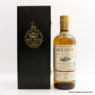 Ben Nevis 1996 20 Year Old For Alambic Glassique Bad Worishofen Germany