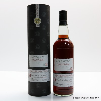 Glen Scotia 1992 19 Year Old A.D. Rattray
