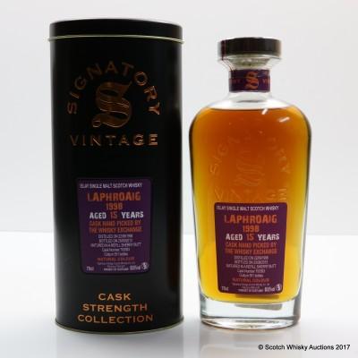 Laphroaig 1998 15 Year Old Signatory Chosen By Whisky Exchange
