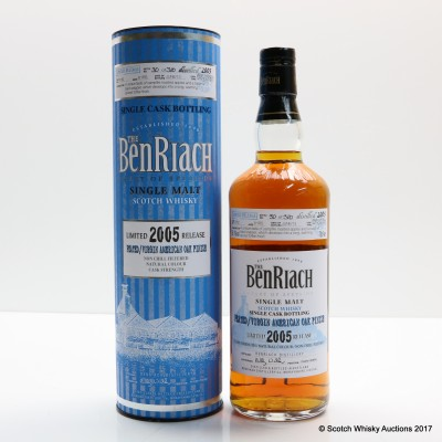 BenRiach 2005 8 Year Old Single Cask #3782
