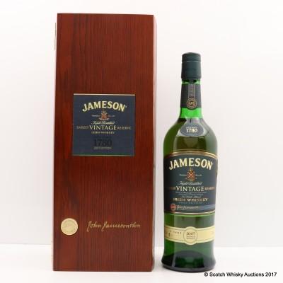 Jameson 2007 Vintage Reserve