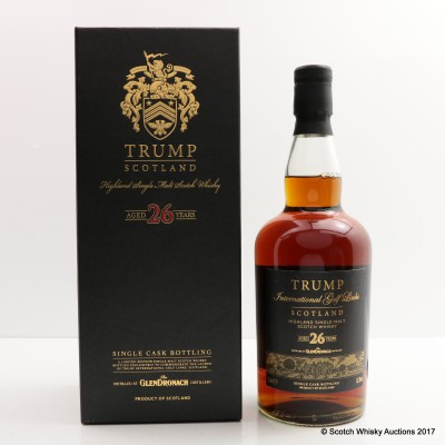 Glendronach 1985 26 Year Old Trump International Golf Links