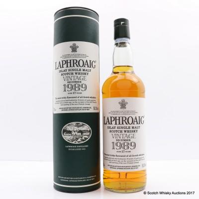 Laphroaig 1989 Vintage Feis Ile 2007 17 Year Old