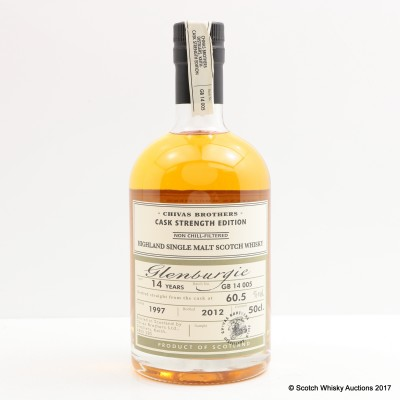 Glenburgie 1997 14 Year Old Chivas Brothers Cask Strength Edition 50cl