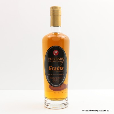 Grant's 20 Year Old Cask Strength 100th Anniversary 50cl
